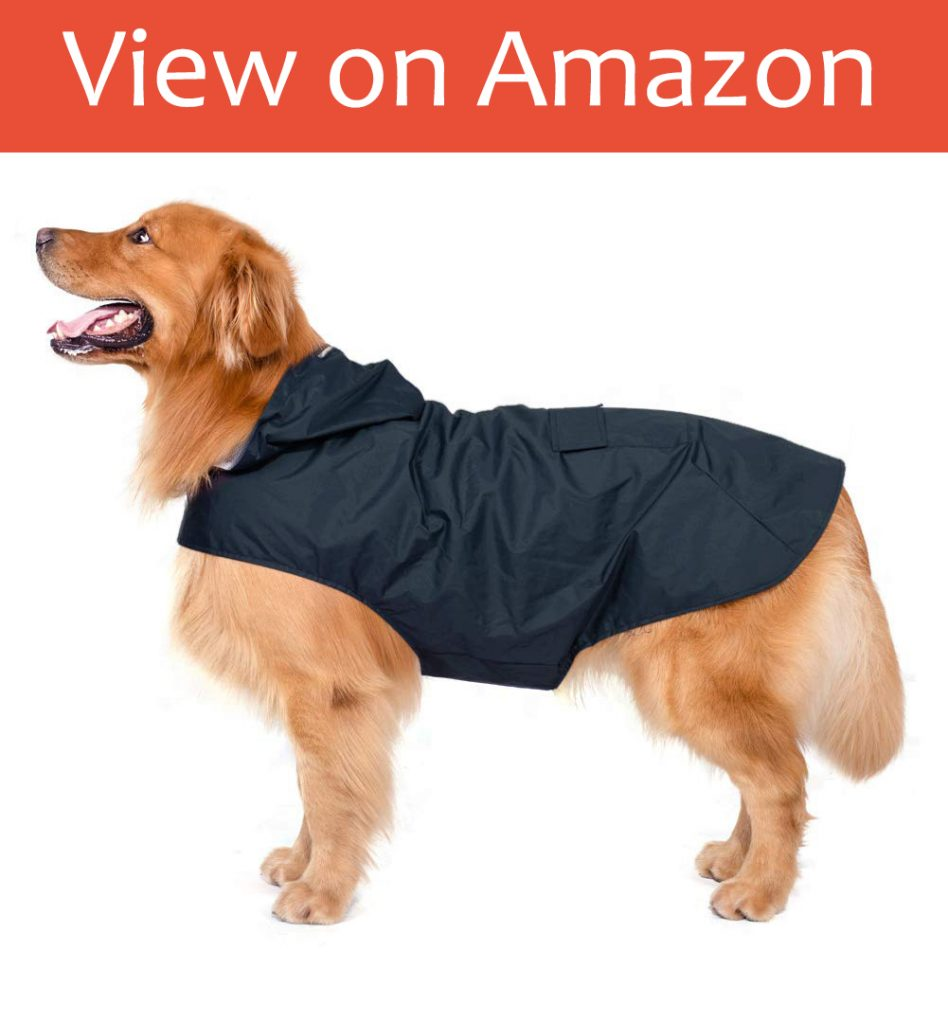 Zellar Dog Raincoat with Hood