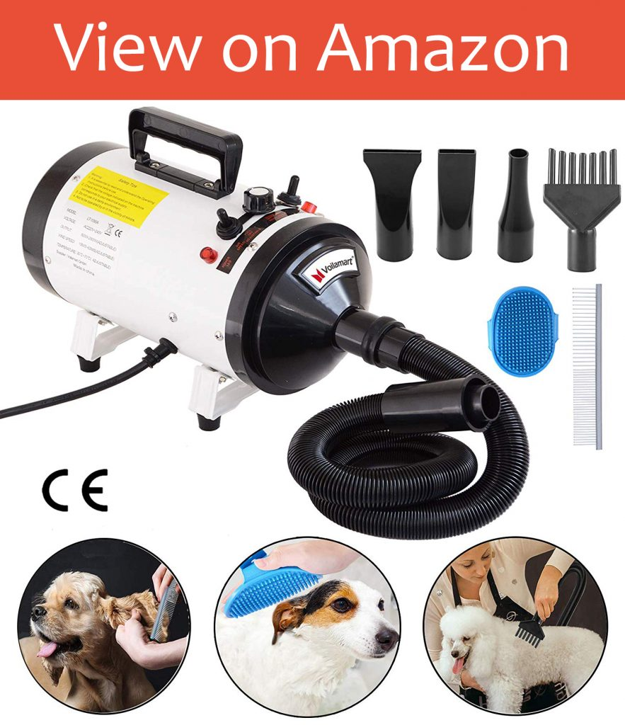 Voilamart 2800W Pet Grooming Hair Dryer