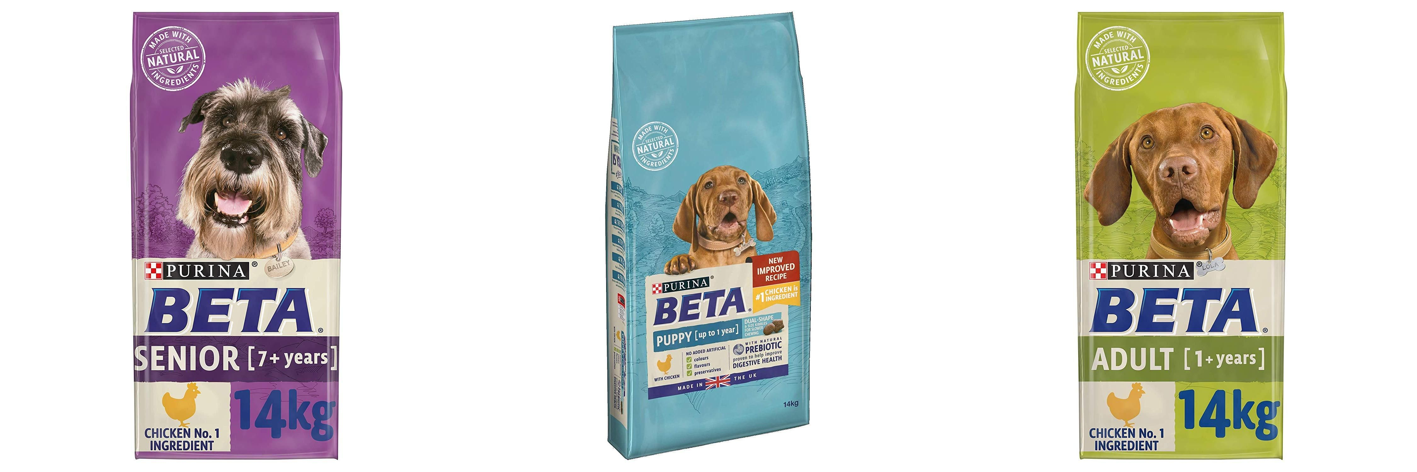 beta dog foods