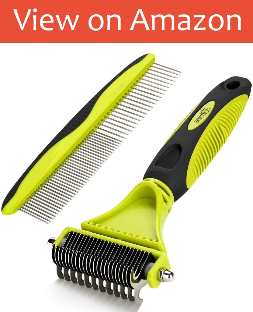 PeCute Grooming/Dematting Comb Toolkit