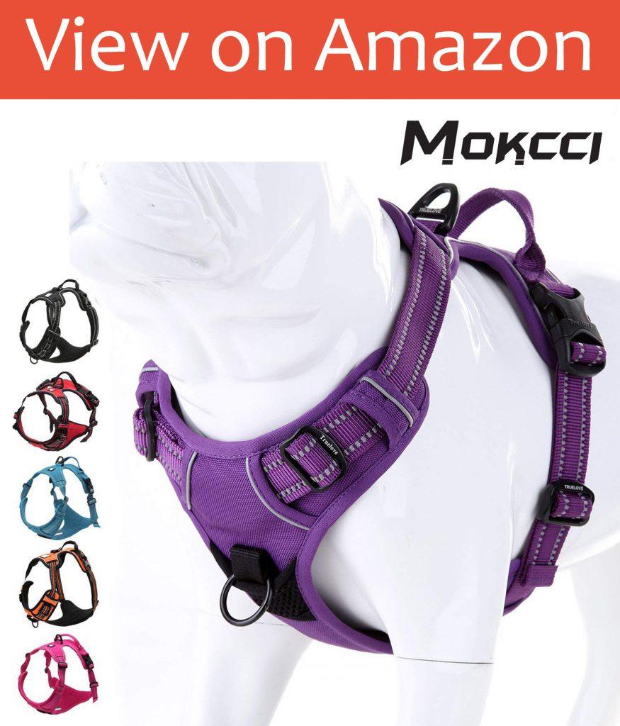 MOKCI Soft Front Dog Harness