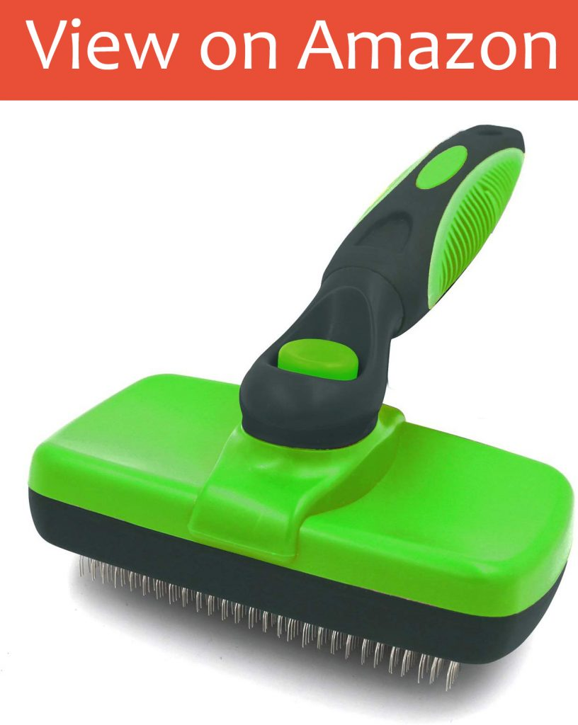 NOZOMI Self Cleaning Slicker Brush
