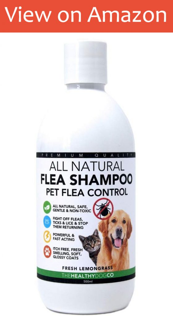 The Healthy Dog Co. All Natural Flea Shampoo