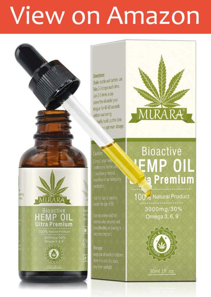 Nifeishi Organic Hemp Seed Oil