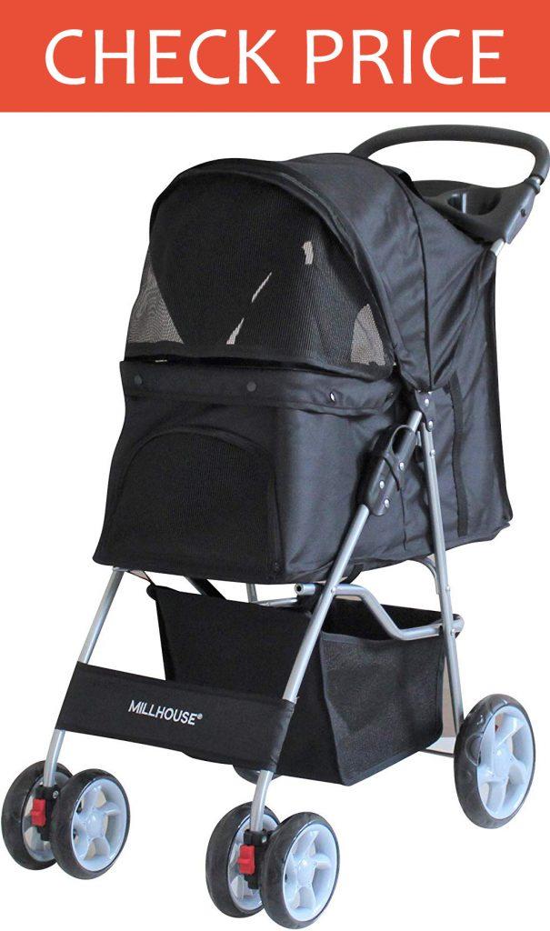 Millhouse Pet Travel Stroller