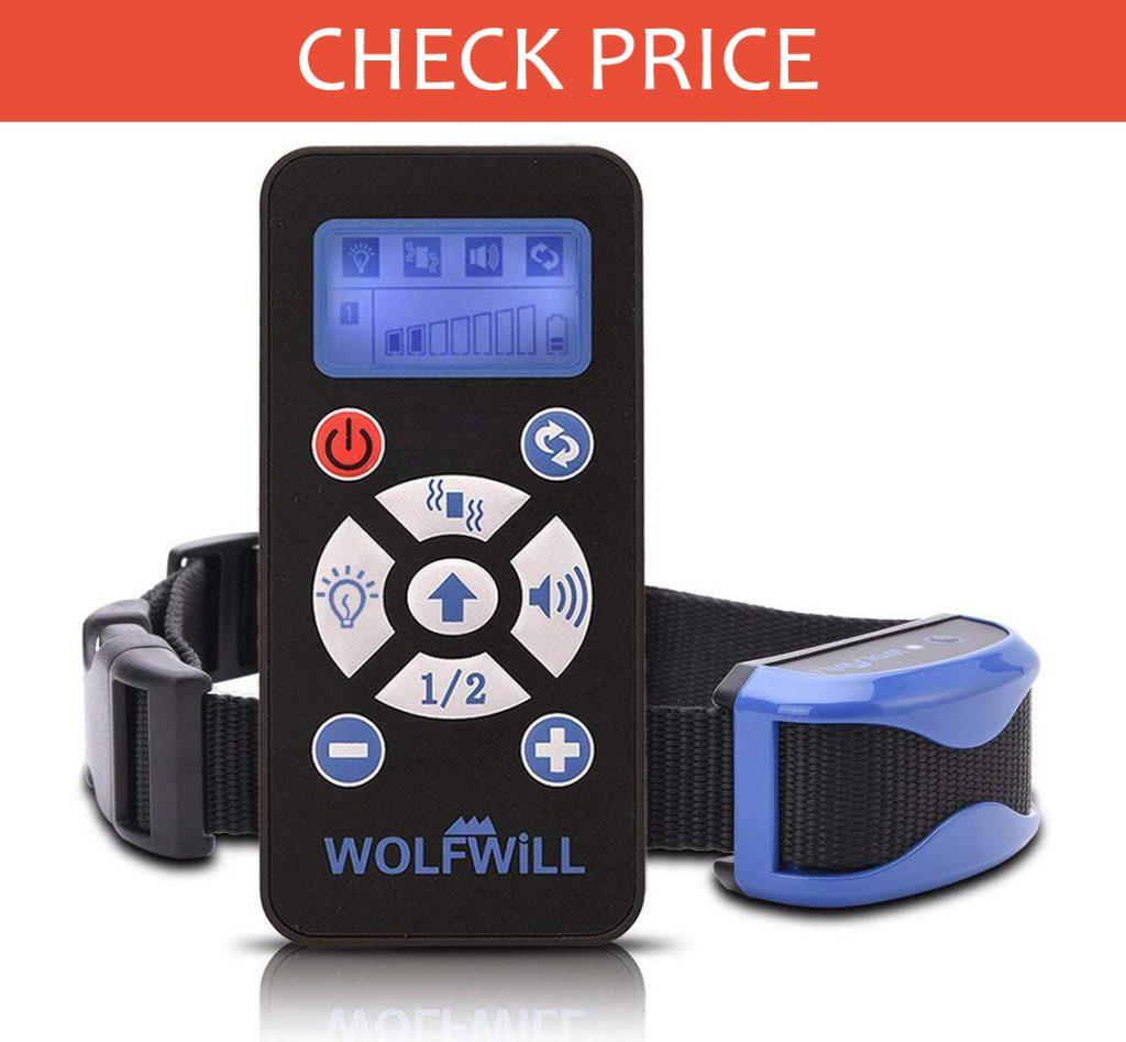 Wolfwill Dog Training Collar