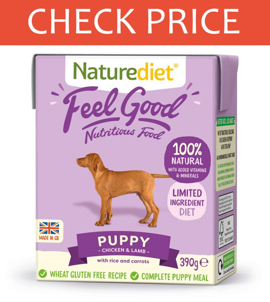 Naturediet Chicken & Lamb Puppy Wet Food