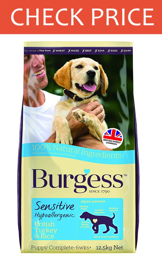Burgess Sensitive Puppy Food
