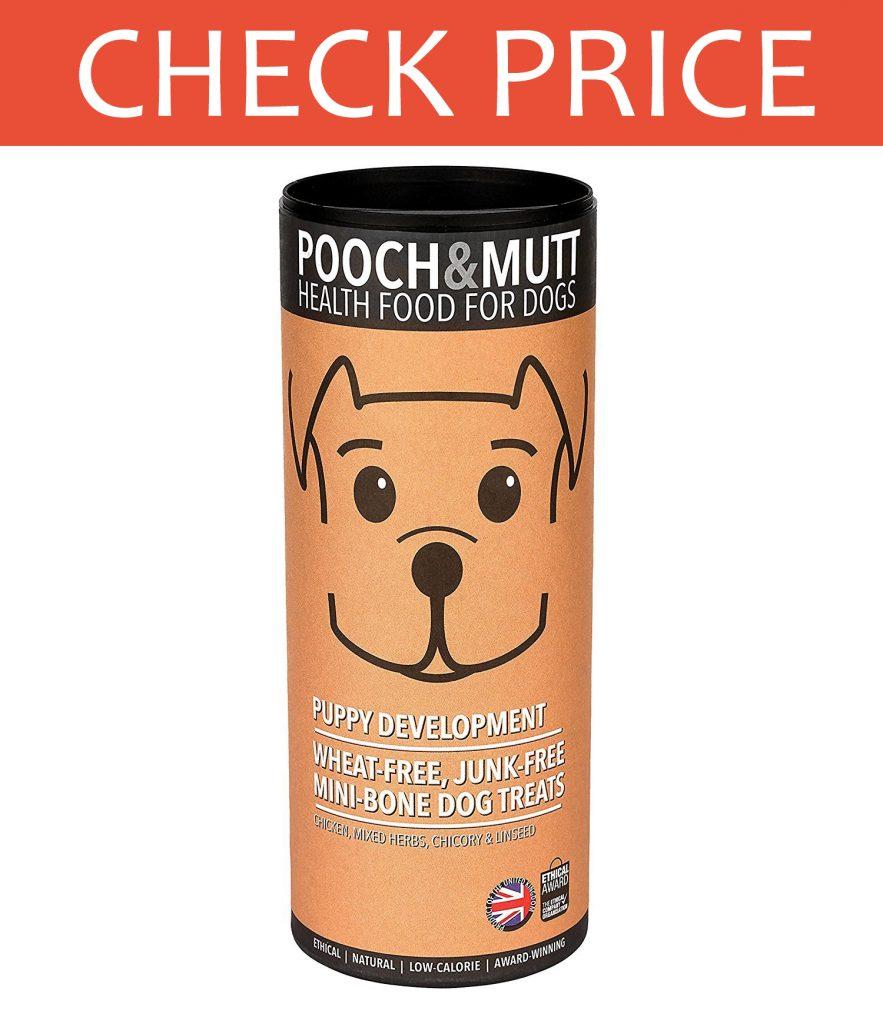 Pooch and Mutt Minibone Dog Treats