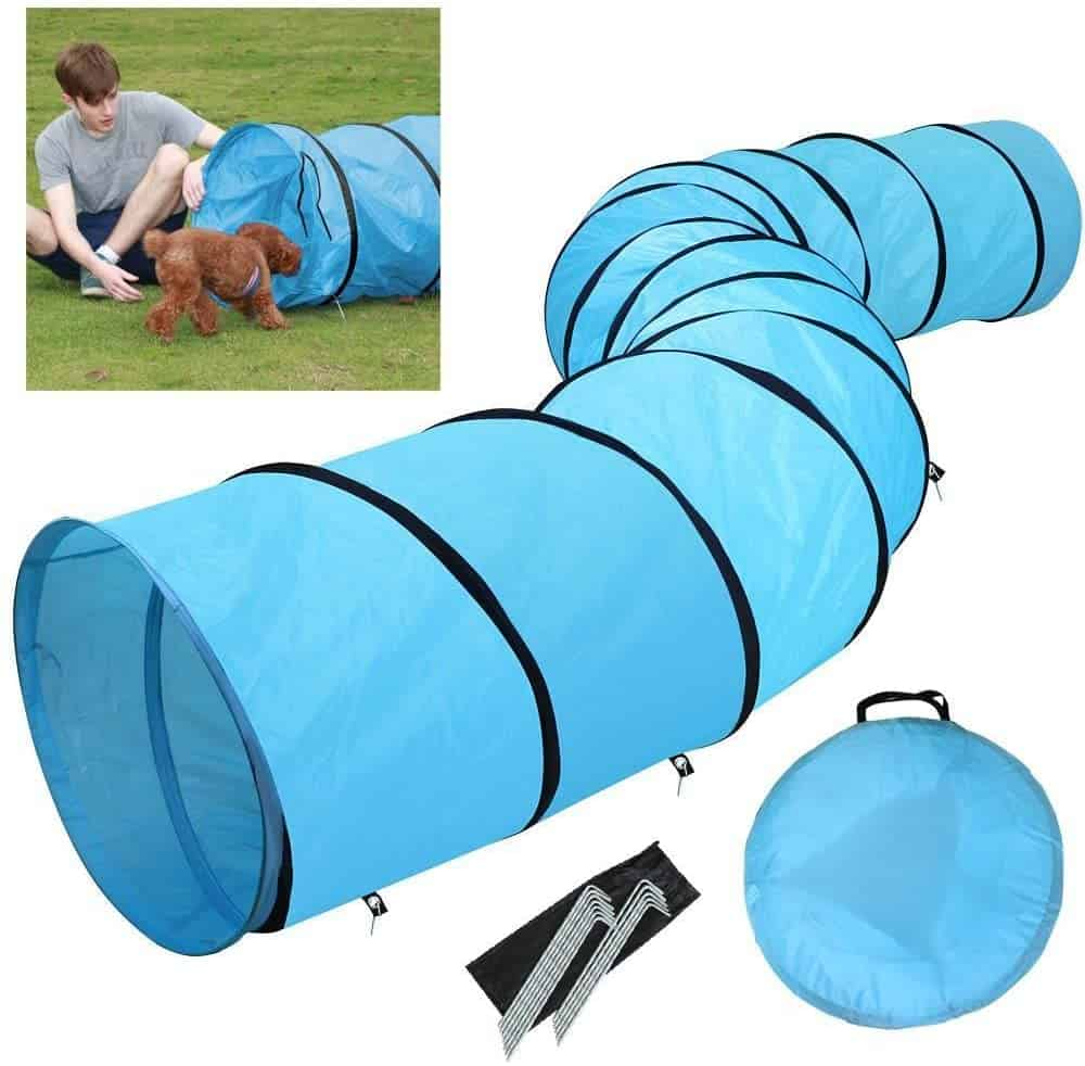 Yaheetech Pet Agility Training Tunnel Game