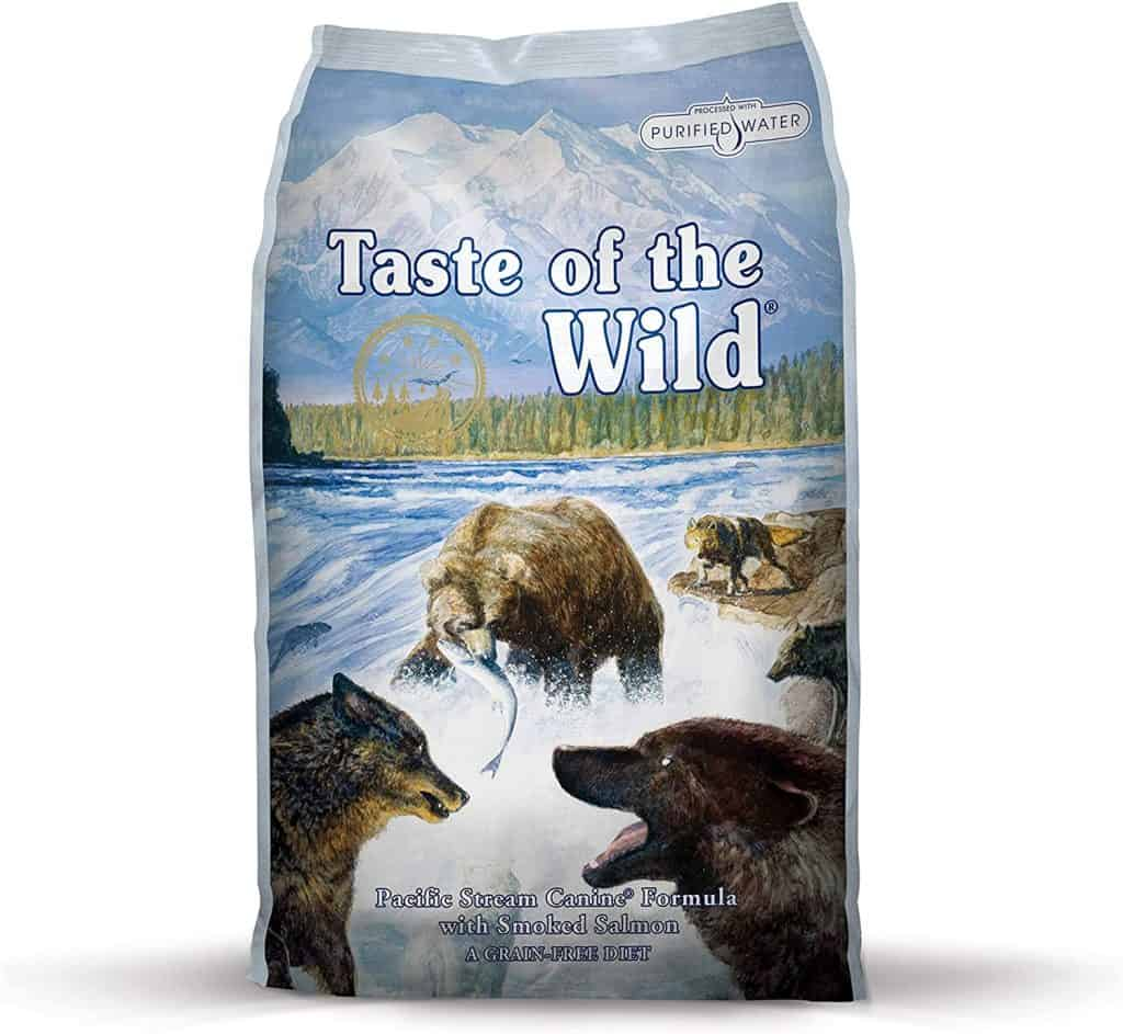 Taste of the Wild Dog Food Pacific Stream with Smoked Salmon