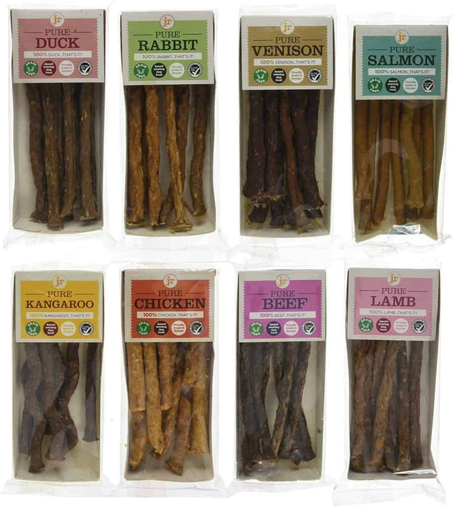JR's 100% Natural Pure Range Sticks for Dogs
