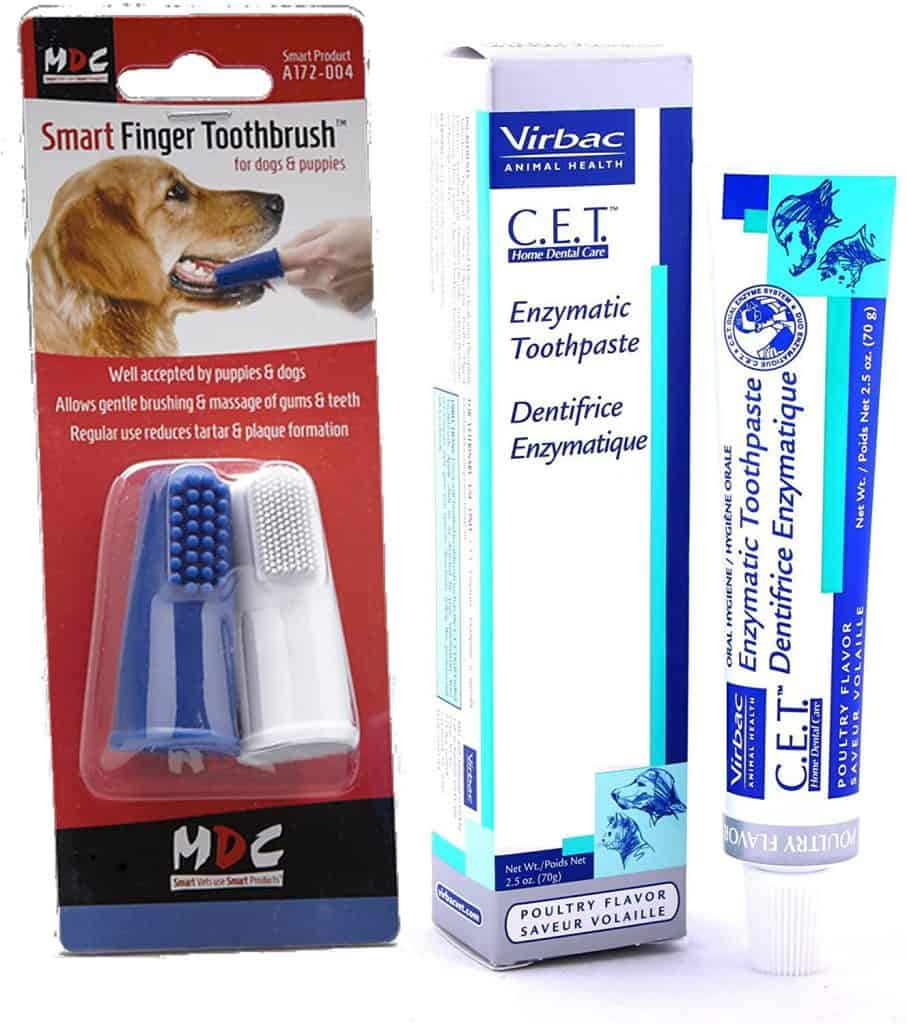Virbac Enzymatic Toothpaste with Smart Finger Toothbrush