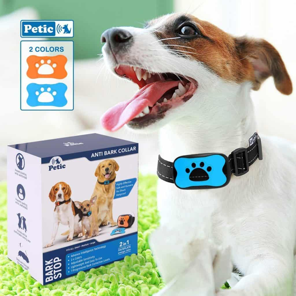 Advanced 2 in1 Anti Bark Dog Collar by PETIC
