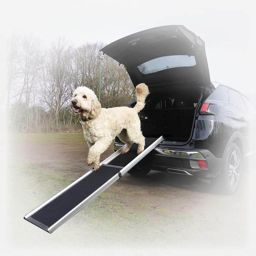 Hewitt & Blue Large Dog Car Ramp