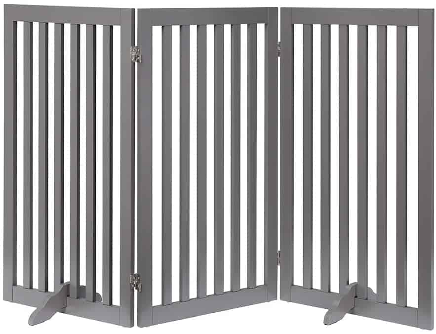 Unipaws 3 Panel 91cm Extra Tall Large Pet Gate