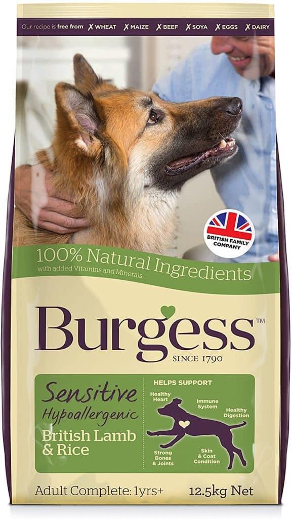 Supadog Burgess Sensitive Hypoallergenic Dog Food