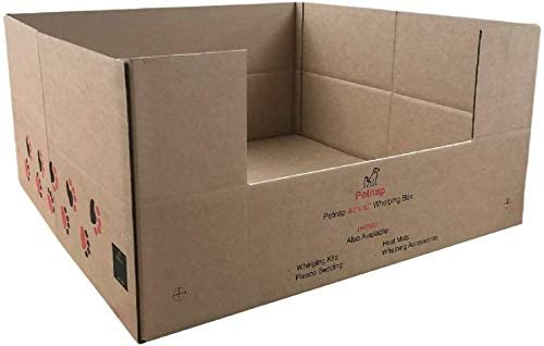 "Petnap Cardboard Whelping Box 30"""