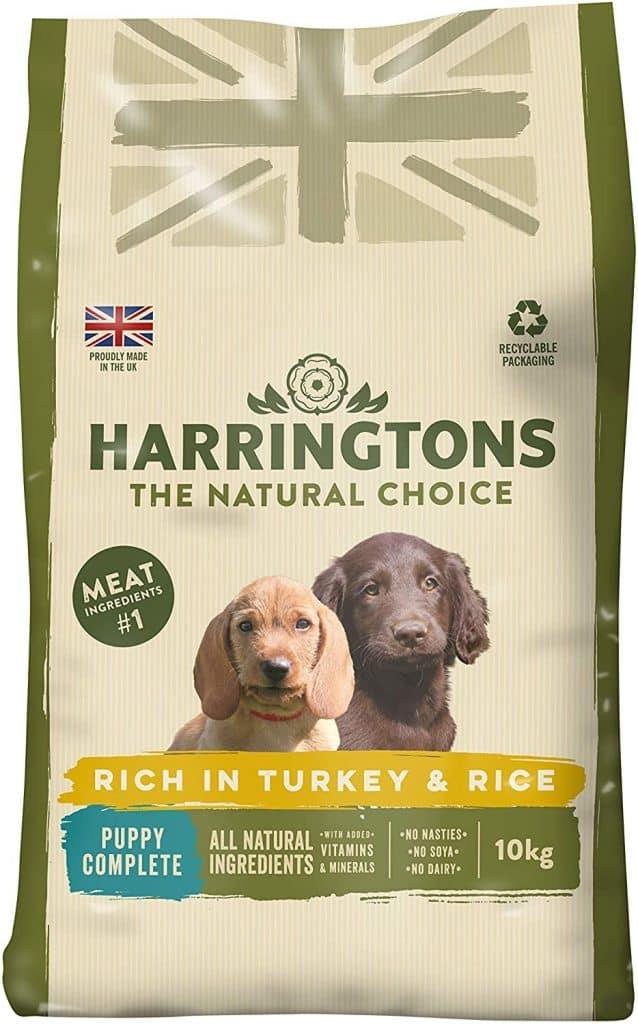 Harringtons Turkey & Rice Puppy Food