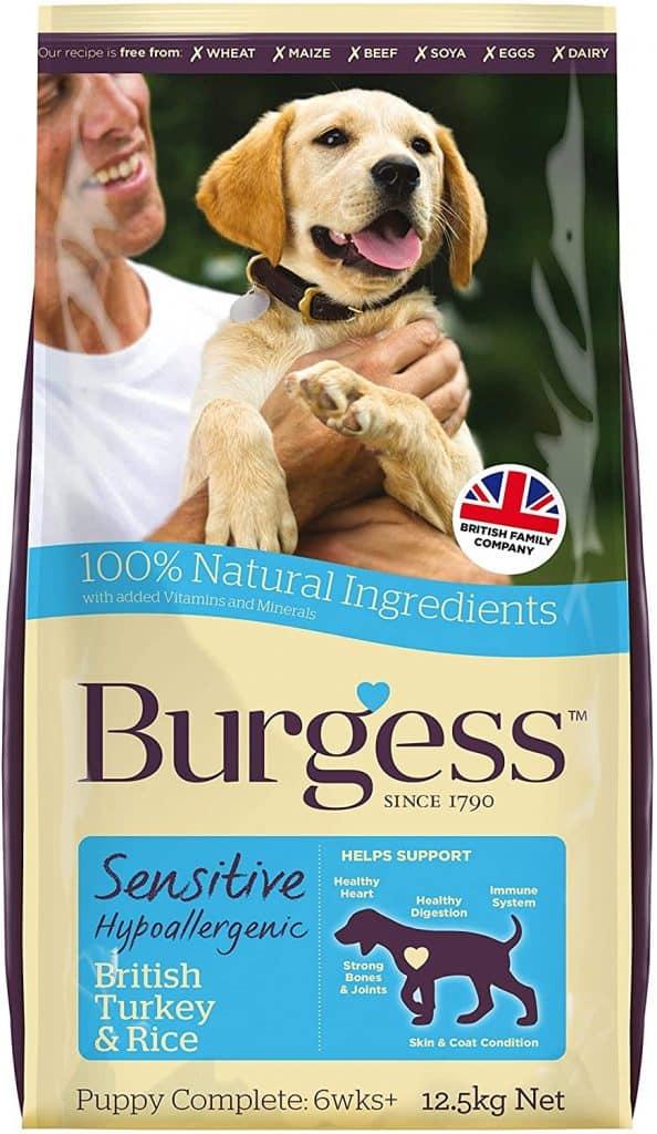 Burgess Sensitive Hypoallergenic Dog Food - Turkey