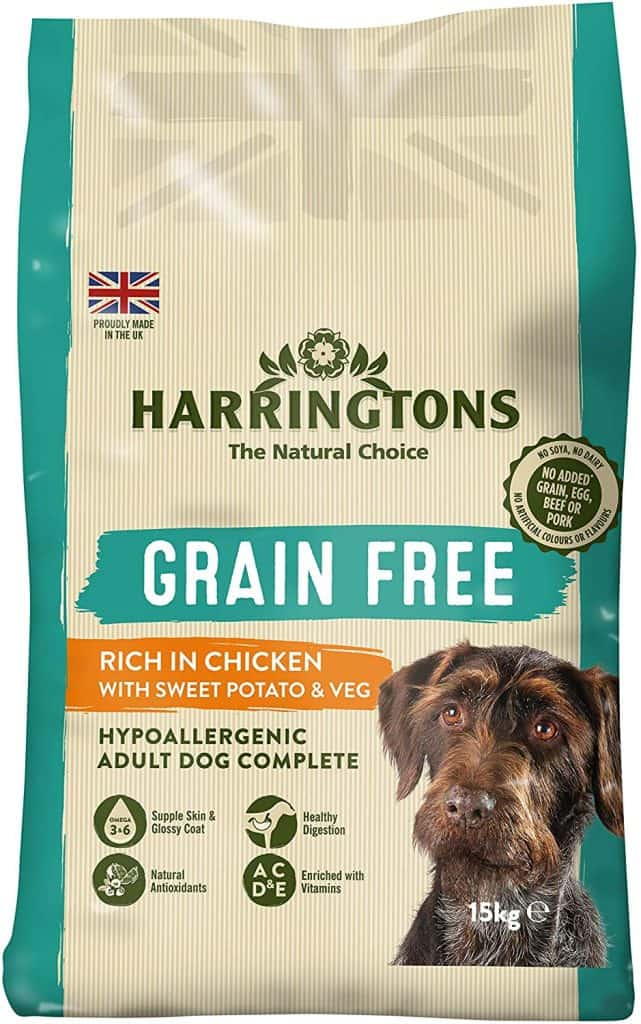 Harrington's Grain Free Hypoallergenic Chicken and Sweet Potato