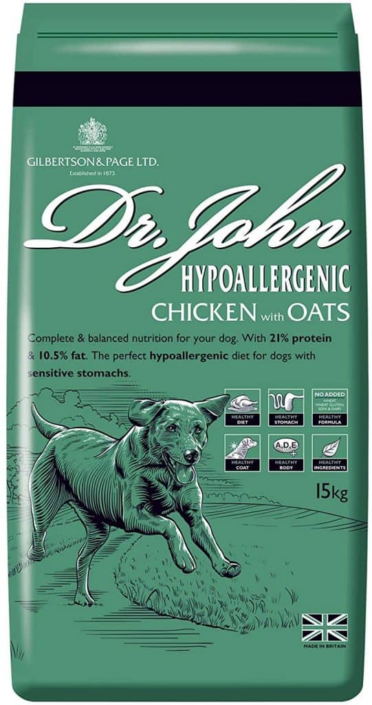 Dr Johns Hypoallergenic Food