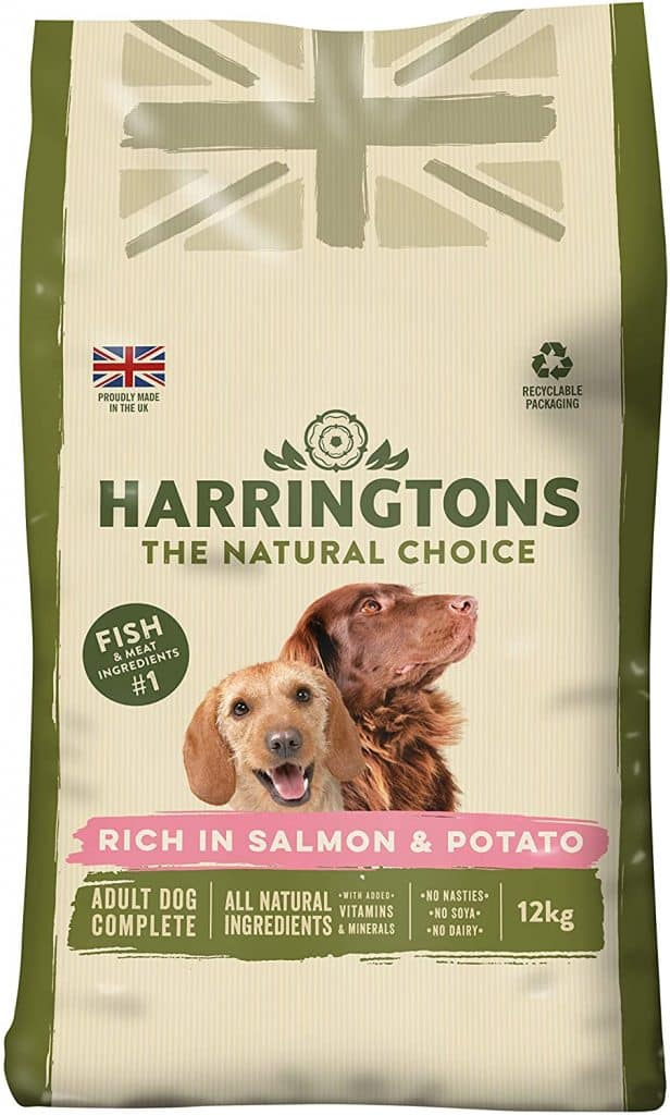 Harrington's Dog Food Complete Rich In Salmon and Potato