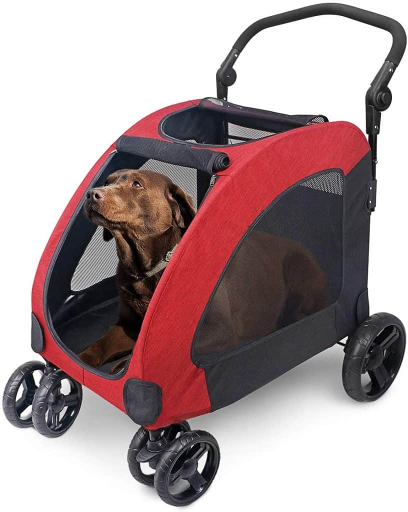 Wooce Pet Four-Wheeled Stroller