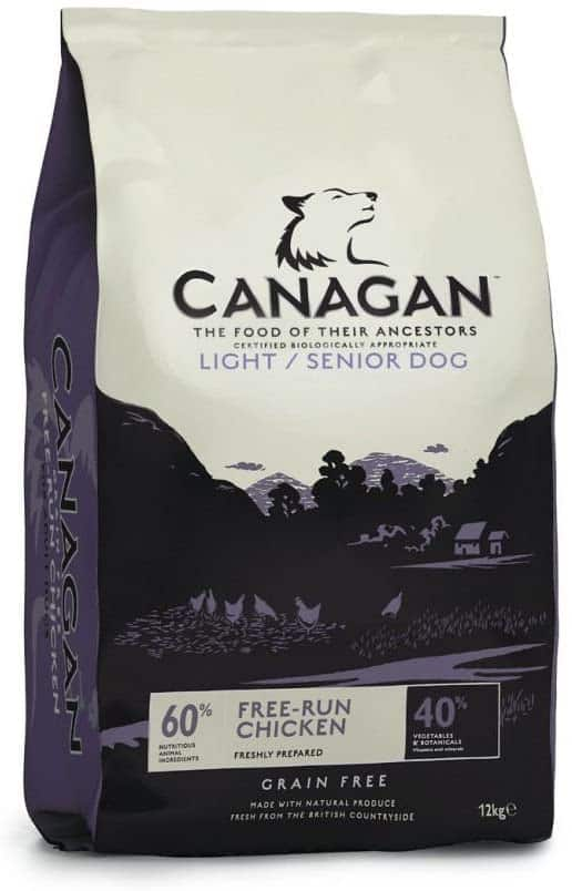 Canagan Dog Food for Senior Dogs