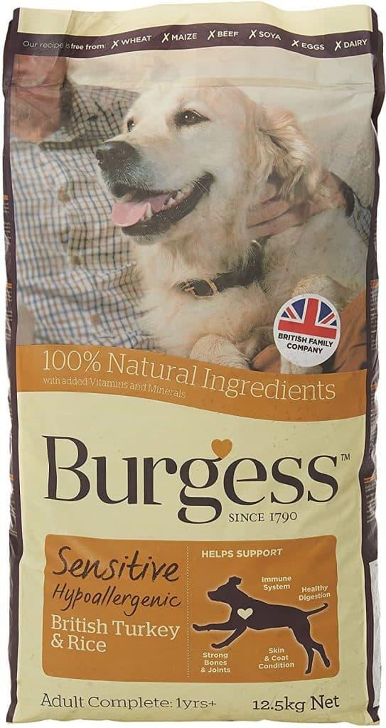 Burgess Sensitive Hypoallergenic Dog Food