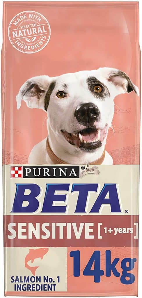 PURINA BETA Adult Sensitive Dry Dog Food with Salmon