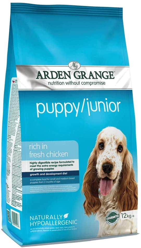 Arden Grange Puppy Food Chicken