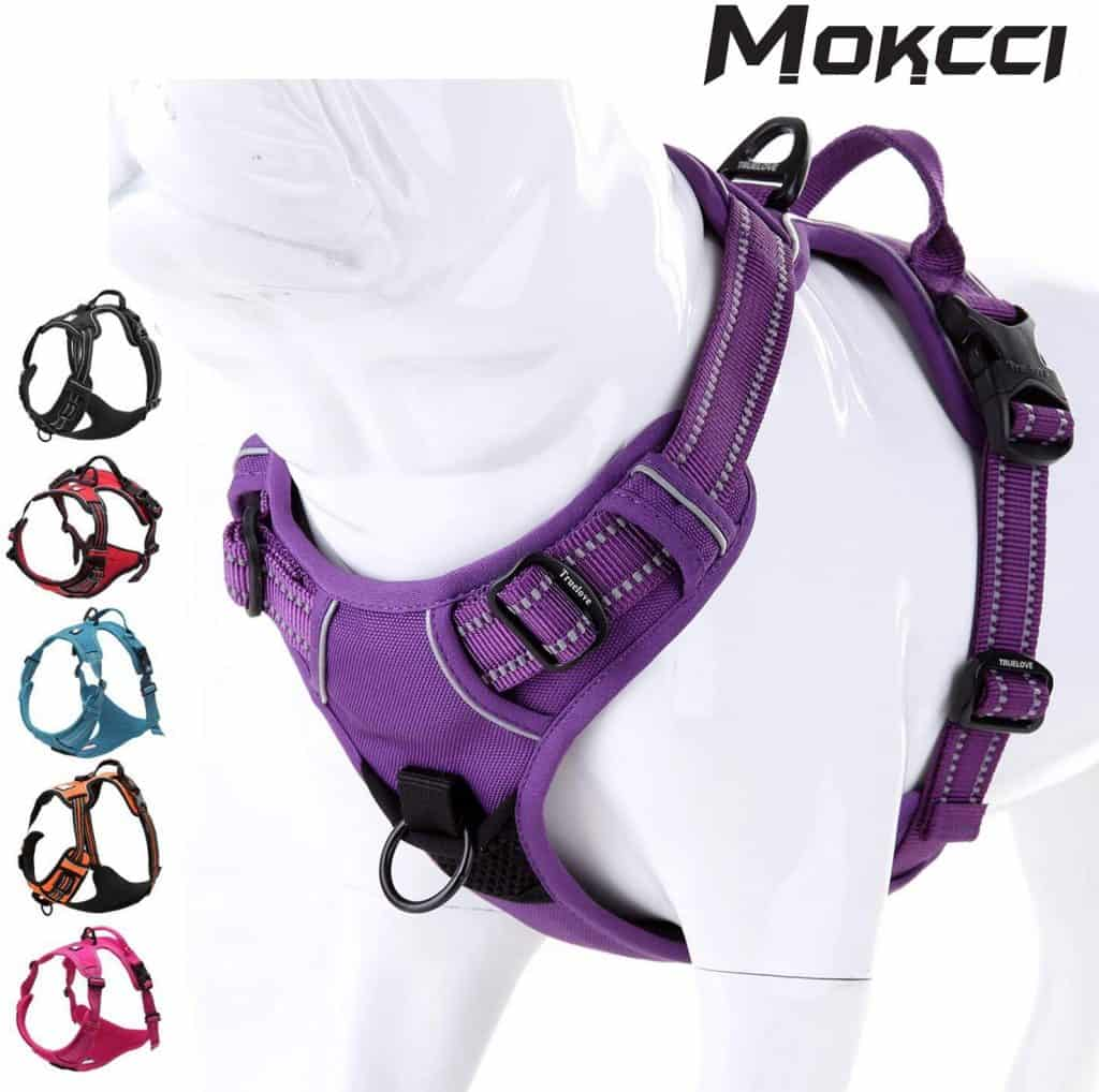 MOKCI Soft Front Dog Harness