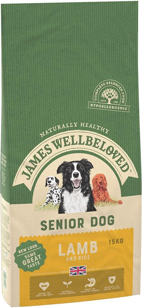 James Wellboved Complete Dry Senior Dog Food