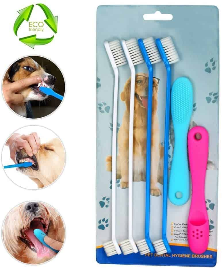 HUIHAITONG Pet Dog Toothbrushes