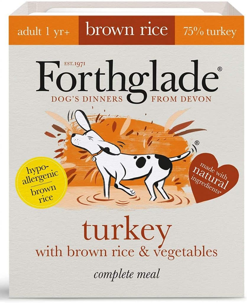 Forthglade 100 Percent Natural Complete Meal Adult Dog Pet Food