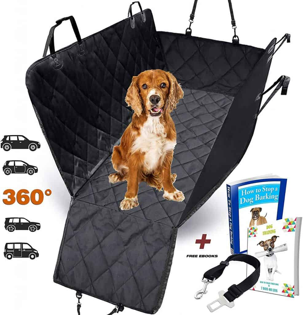AMZPET Dog Car Seat Cover for Dogs