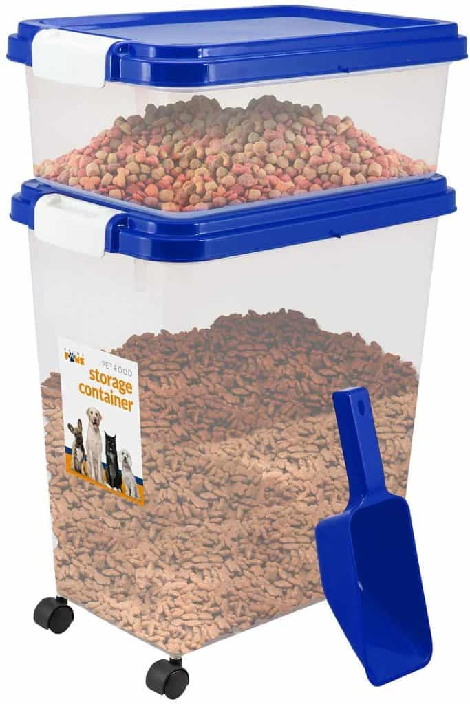 Prime Paws 3 Piece Pet Food Storage Container