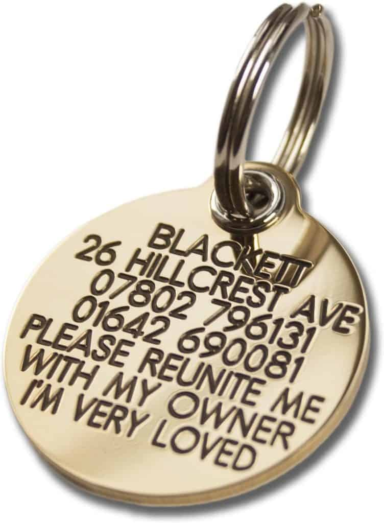 Engraving Studios Reinforced Dog Tags