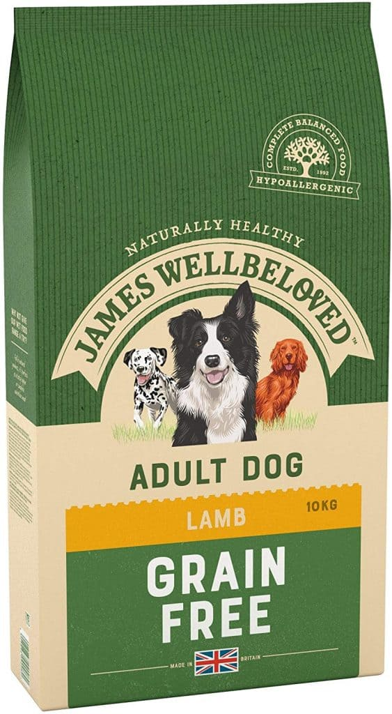 James Wellbeloved Adult Maintenance Grain Free Kibble Dog Food