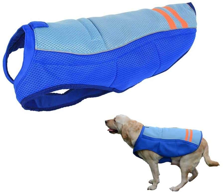 HomeYoo Dog Cooling Vest and Anti Summer Jacket