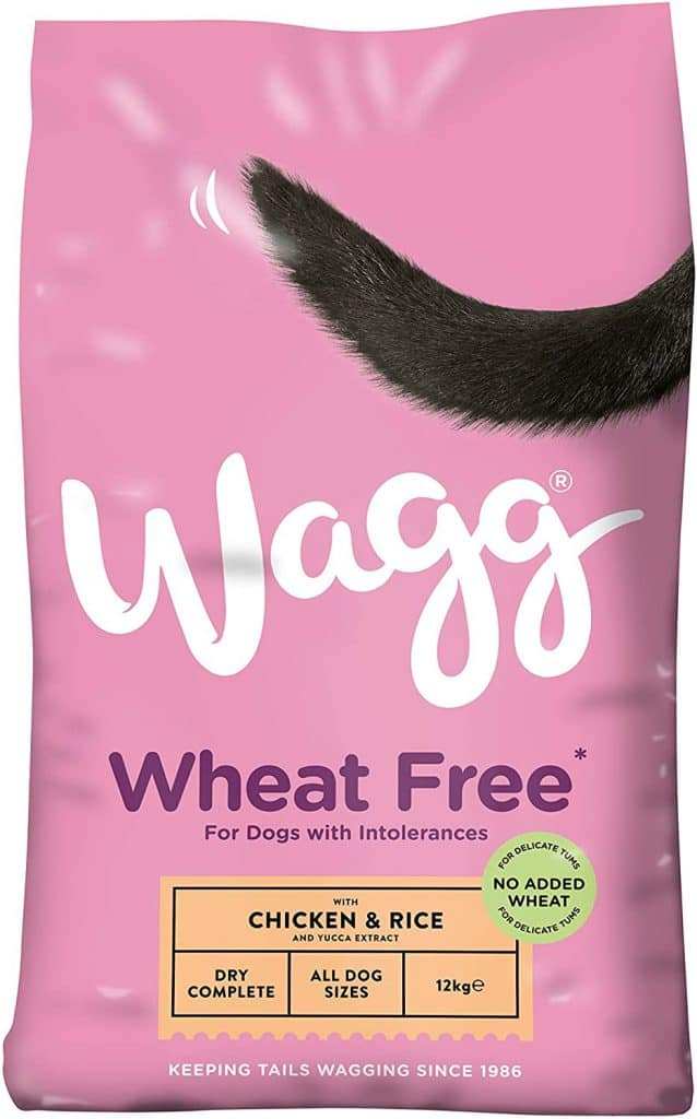 Wagg Complete Sensitive Wheat Free Chicken and Rice