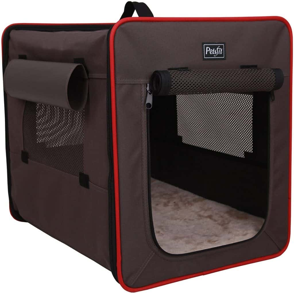 Petsfit Indoor Dog House Soft Fabric Dog Crate
