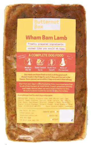 butternut box lamb