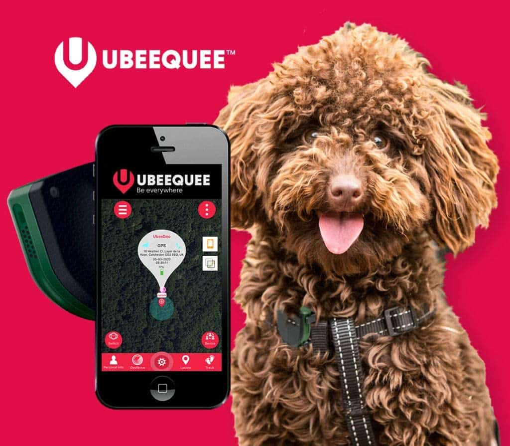 UBEEQUEE GPS Tracker for Dogs
