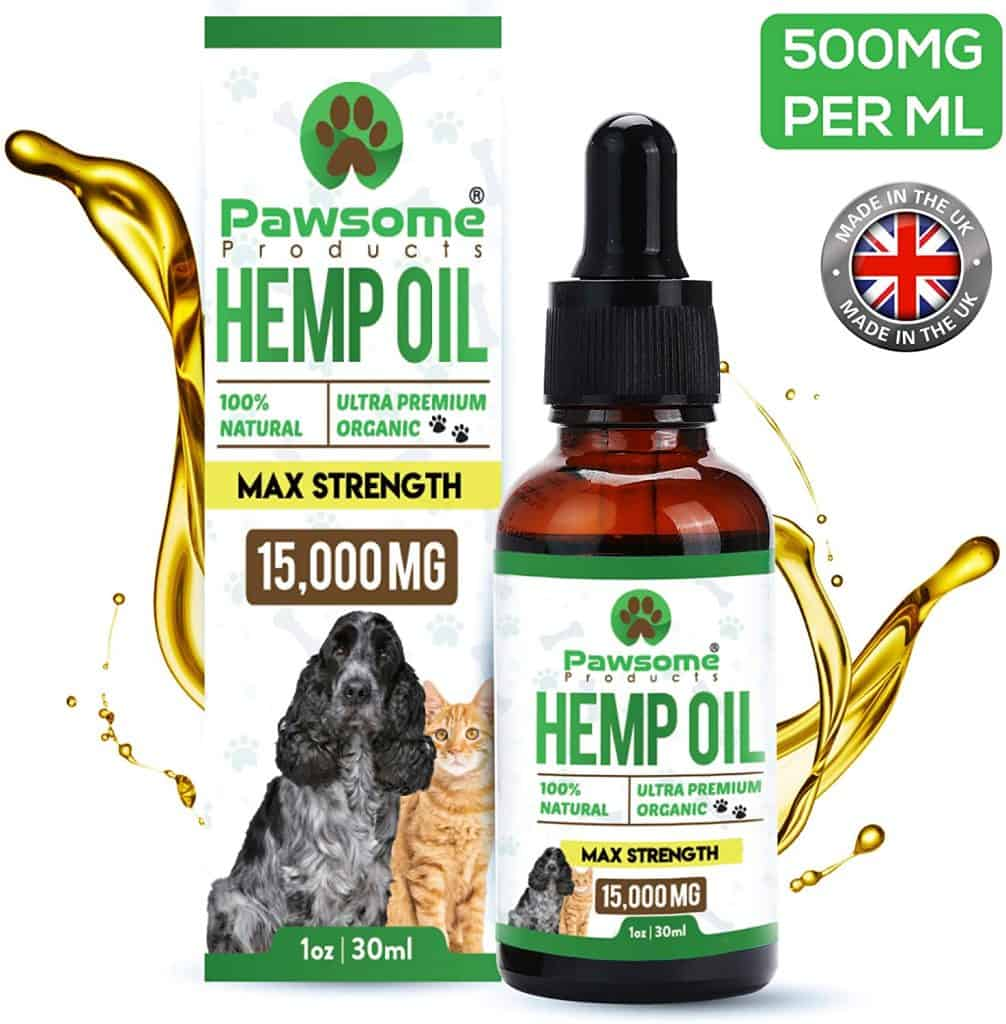 Pawesome Hemp Oil