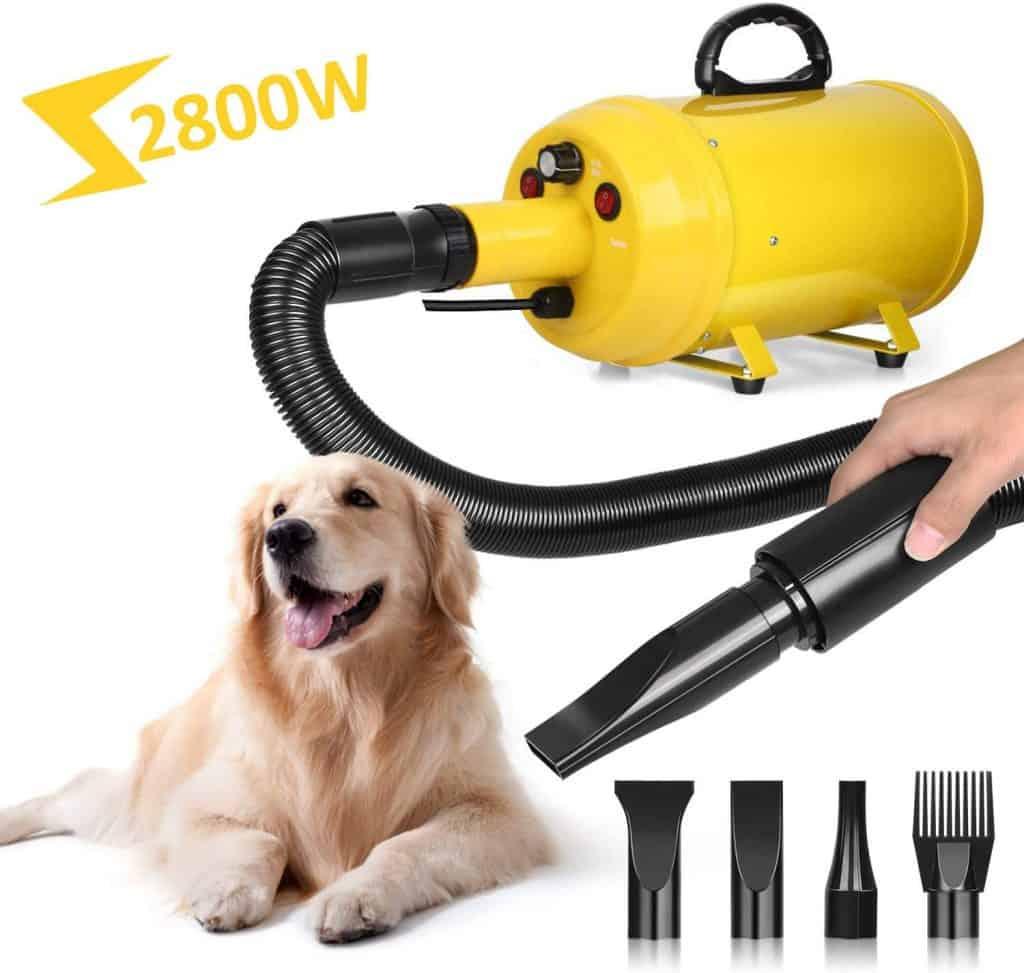 Amzdeal Dog Dryer Pet Hair Dryer