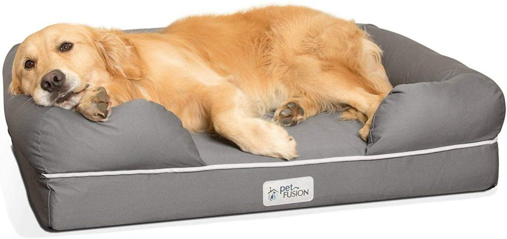 PetFusion Large Dog Memory Foam Bed