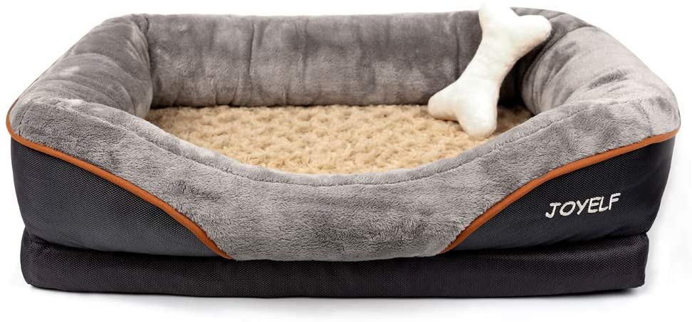 JOYELF Orthopedic Memory Foam Dog Bed