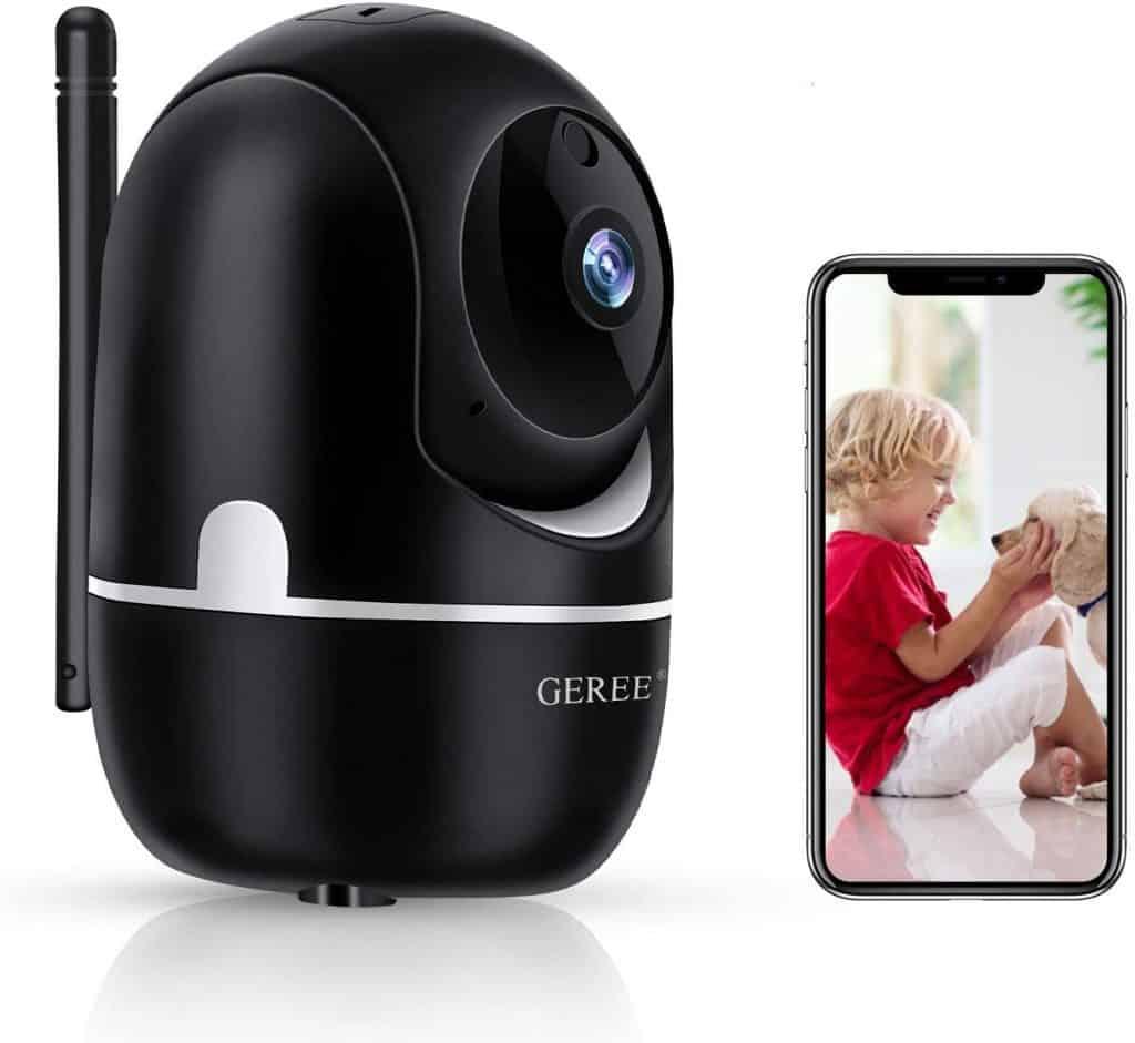 Geree Indoor WiFi Pet IP Camera